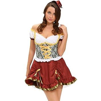 Amazon.com: AppleLand - Disfraz sexy de cerveza para niña ...