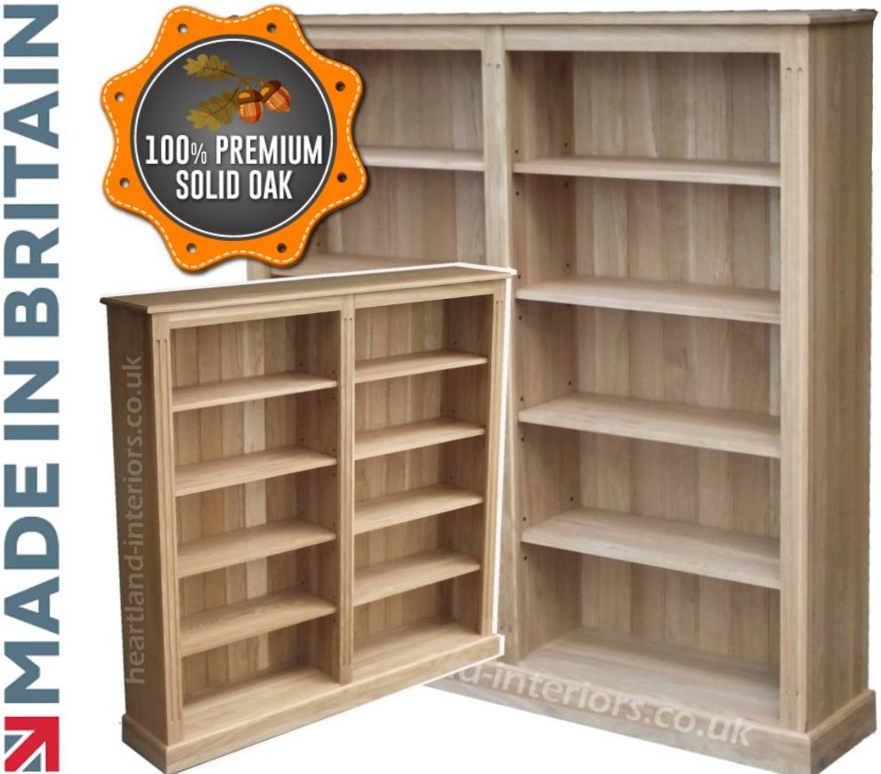 Heartland Oak 100% Roble Macizo librería, 5 m x 5 m Hecho a ...
