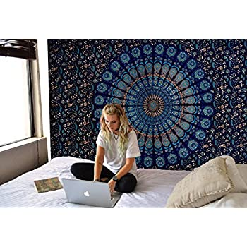 Amazon Com Tapestry Wall Hanging Mandala Tapestries