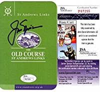 Jack Nicklaus Signed - Autographed British Open Scorecard - JSA Certificate of Authenticity