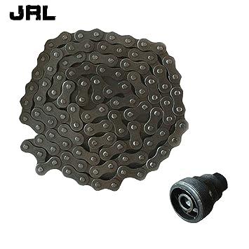 JRL 415 - Cadena y extractor de embrague para motores de motos de 49 c. c., 66 c. c. y 80 c. c.: Amazon.es: Coche y moto