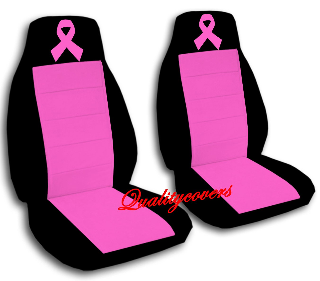 Remarkable Amazon Com 2 Black And Hot Pink Ribbon Seat Covers For A Gmtry Best Dining Table And Chair Ideas Images Gmtryco