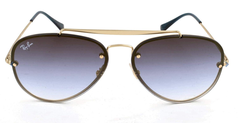 RAY-BAN 0RB3584N Gafas de sol, Demi Gloss Gold, 58 Unisex ...