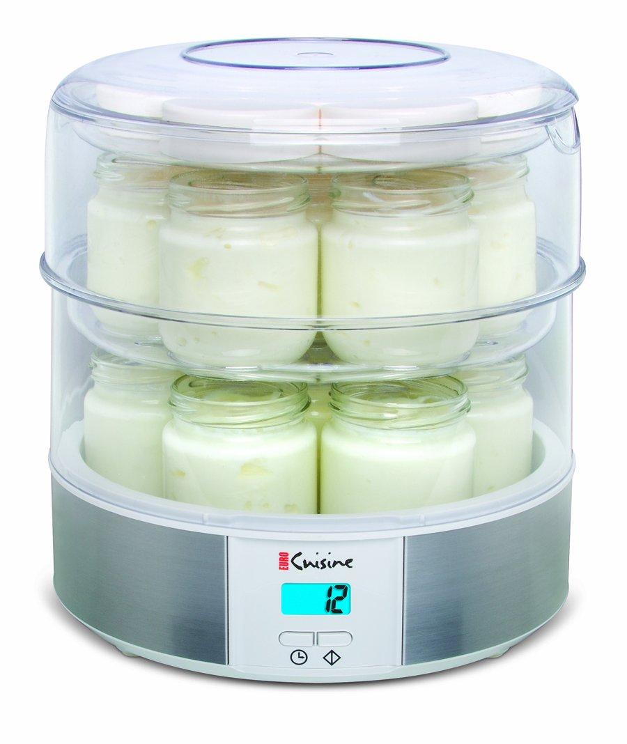 Amazon Euro Cuisine Gy4 Top Tier Yogurt Maker Kitchen Dining