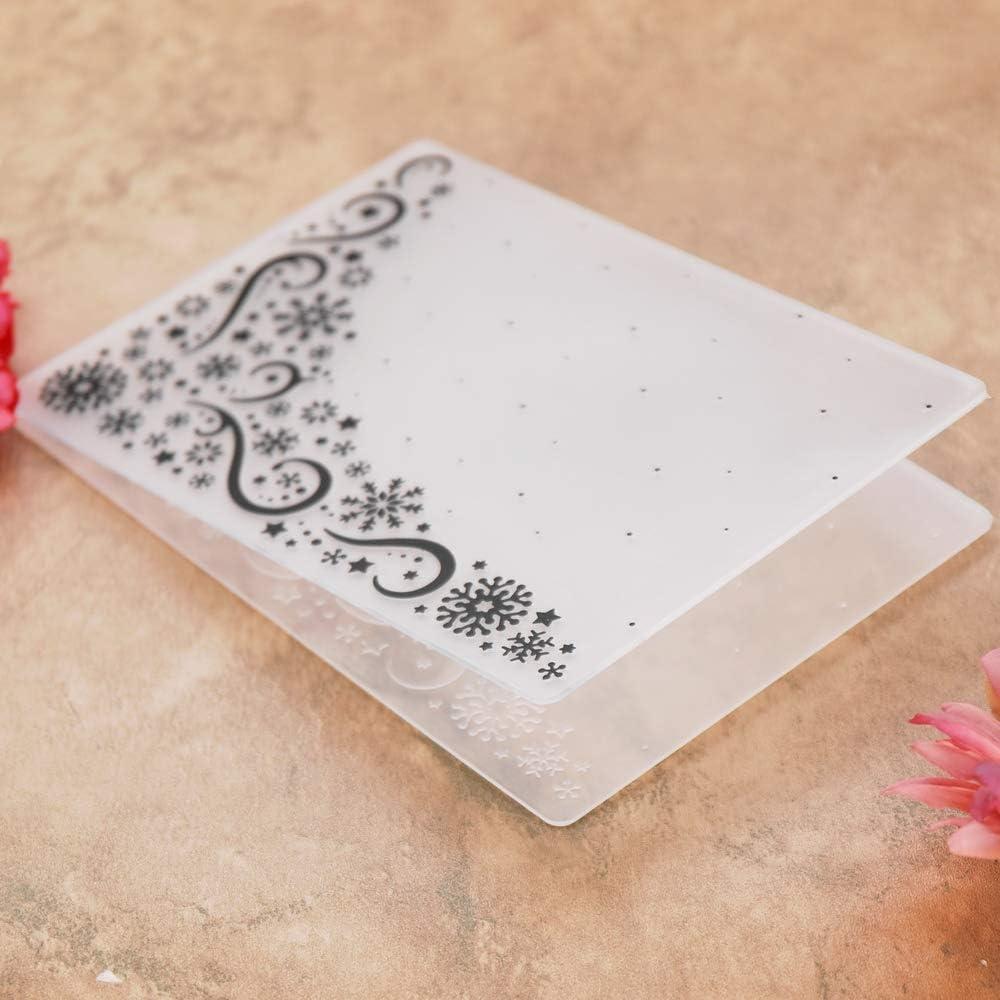Kwellam Pochettes de gaufrage en plastique pour cr/éation de cartes scrapbooking et autres loisirs cr/éatifs