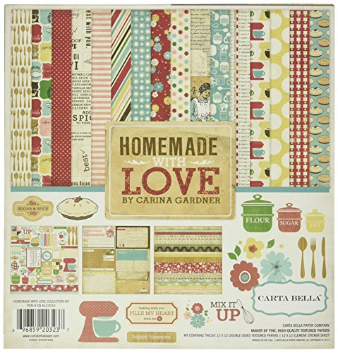 Echo Park Paper Company CB-HL23016 Homemade with Love kit by Echo Park Paper Company