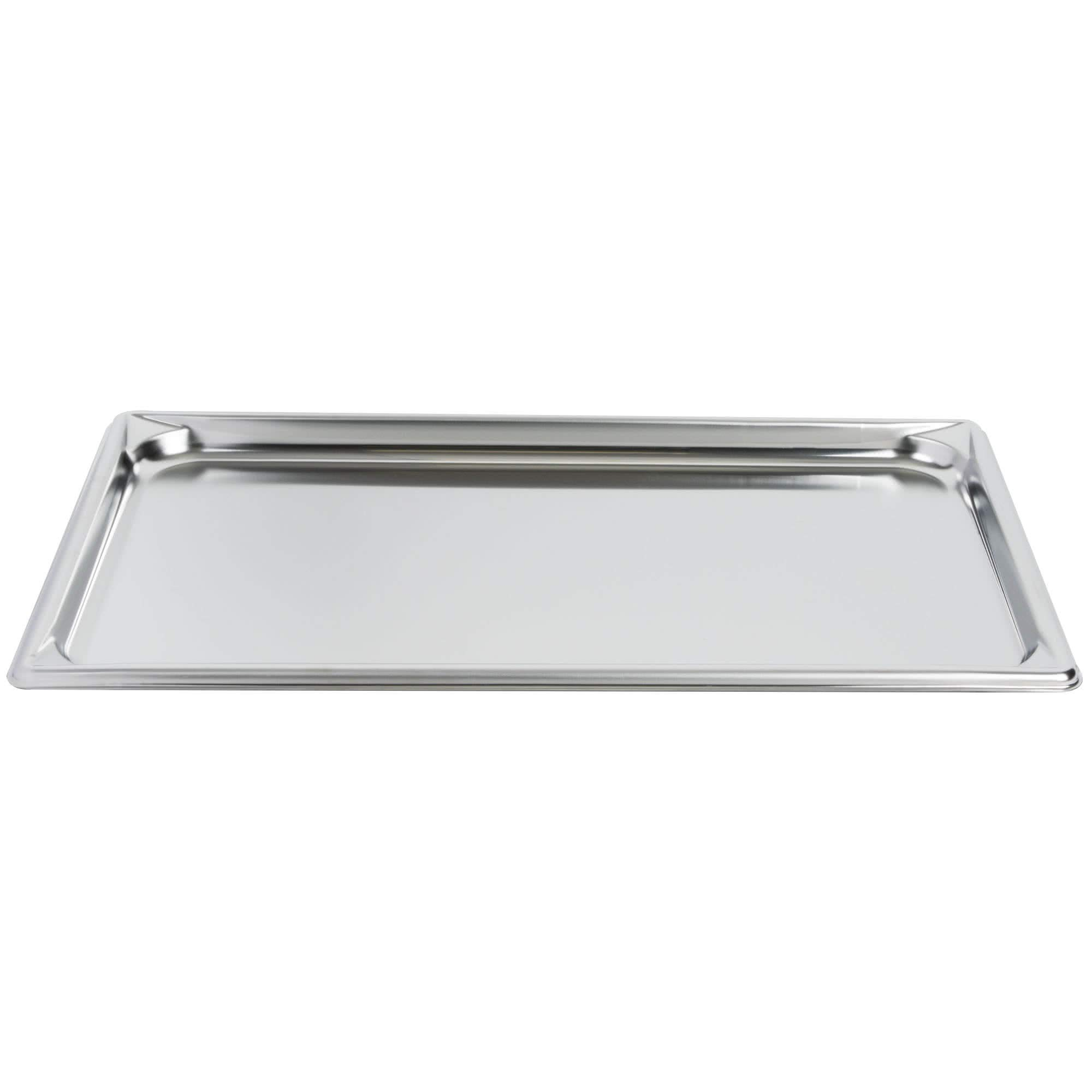 TableTop King 30002 Super Pan V Full Size Anti-Jam Stainless Steel Steam Table/Hotel Tray - 3/4'' Deep by TableTop King