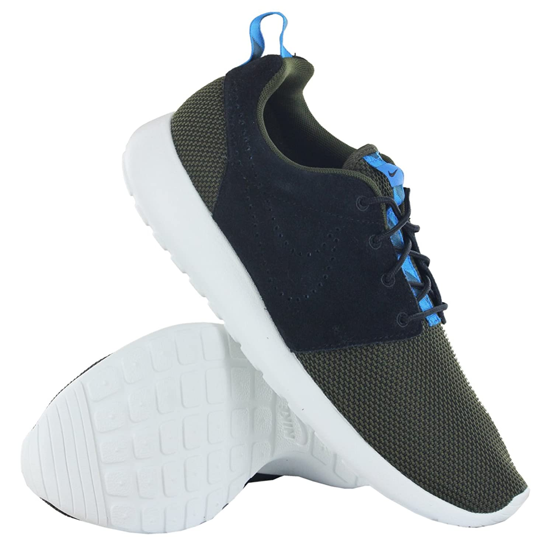 rdioc Nike Roshe Run Grey Black Mens Trainers Size 8 UK: Amazon.co.uk