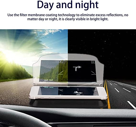 Heads Up Display GPS Car HUD Holder Mobile GPS Mounts Navigation Bracket
