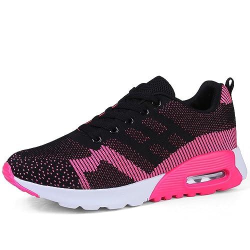 Zapatos de Mujer, Zapatilla Verano de Deporte de Punto Respirable de Verano Zapatilla 90f8ff