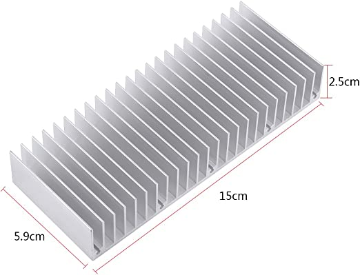 Cooling Fin Reduce The Risk of Hardware Failure Due to Overheating Used in Applications Where Weight is A Big Concern Heatsink