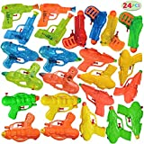 JOYIN 24 Pack Assorted Water Blaster Soaker Summer Swimming Pool Beach Toy Water Squirt Water Fight Toys