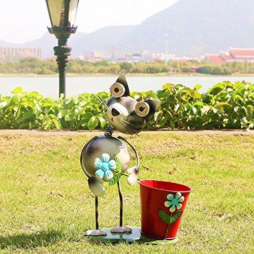 Solar Light Planter Pots in Florida - 9