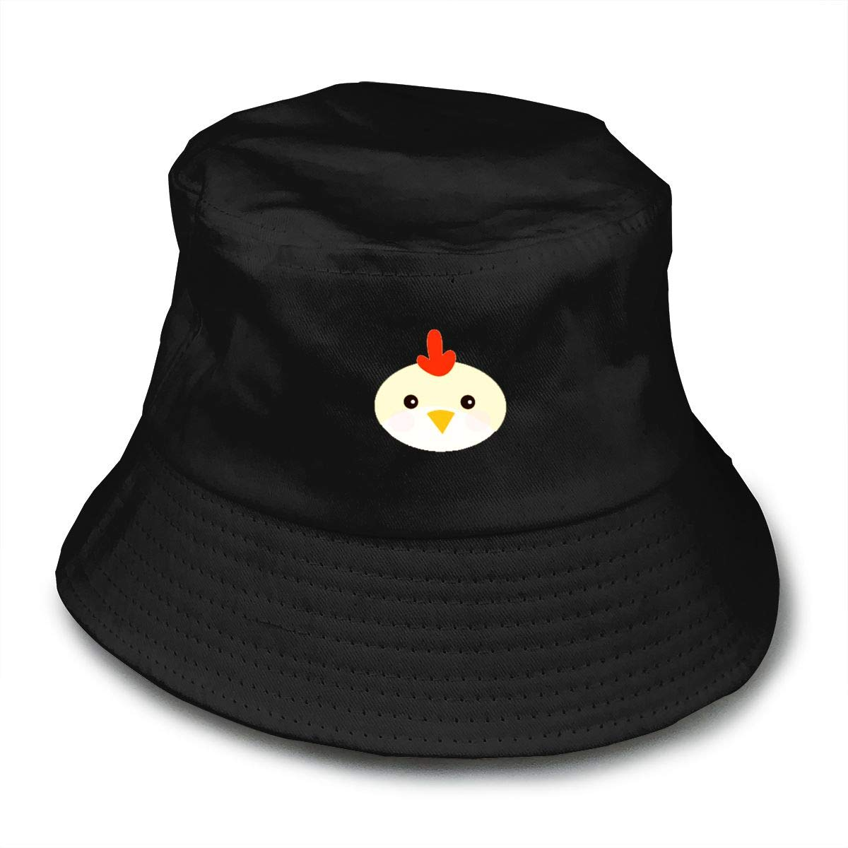 Little Chicken Bucket Hat Summer Fisherman Cap Foldable Sun Protection Hat ed40beddfef