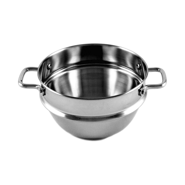 Calphalon Simply Calphalon 2-Quart Small Stainless-Steel Double Boiler Insert Calphalon Cookware A102