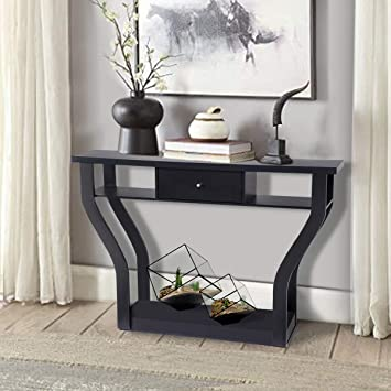Prime Giantex Console Hall Table For Entryway Small Space Sofa Side Table With Storage Drawer And Shelf Home Office Living Room Furniture Narrow Accent Hall Inzonedesignstudio Interior Chair Design Inzonedesignstudiocom