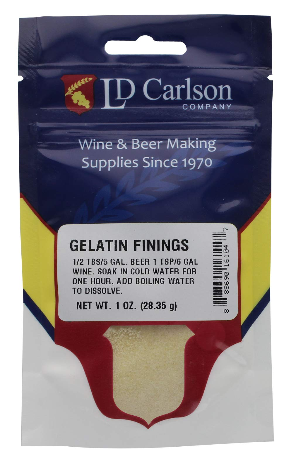 Gelatin Finings- 1 oz