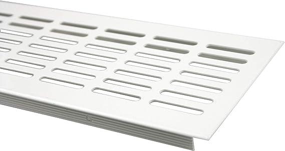 Braun eloxiert Aluminium L/üftungsgitter Stegblech L/üftung 60mm x 400mm in verschiedenen Farben