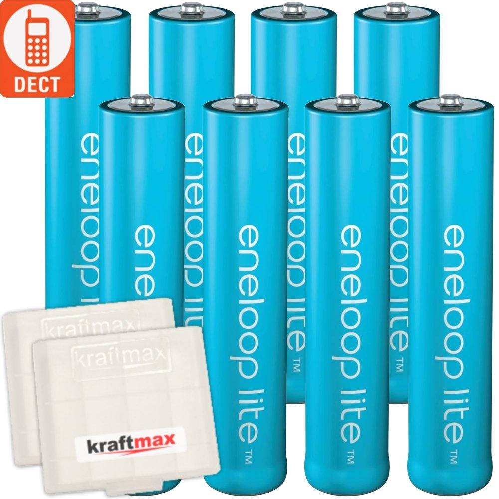 /Pack con eneloop Lite Bater/ías Micro AAA Kraftmax/