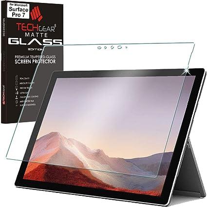 Protecteur d/Écran Original en Verre Tremp/é Compatible avec Microsoft Surface Pro 6 12.3 Pouces TECHGEAR/® Verre Tremp/é pour Microsoft Surface Pro 6