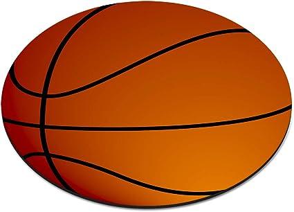 Baloncesto Bola Circular Alfombra Ratón Ordenador PC: Amazon.es ...