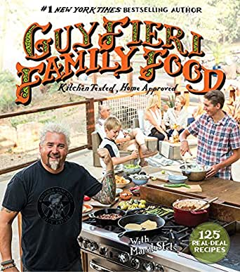 Amazon Guy Fieri Family Food 125 Real Deal Recipes Kitchen