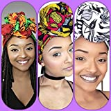 Boss Lady African Headwrap Collection ( 3 headwraps)