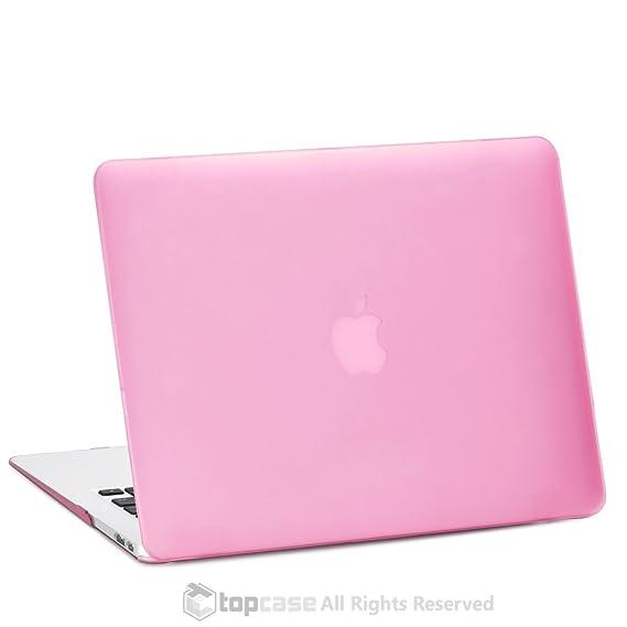 Top Case - Carcasa rígida de goma - Carcasa para MacBook Air ...