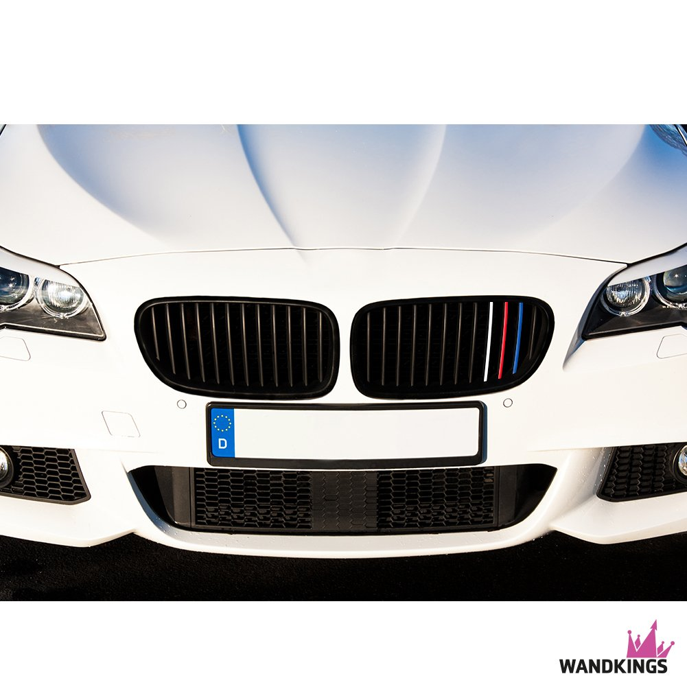 Wandkings Grille Stripe Decals For Kidney Grills Solid Colors - Bmw grille stripe decals