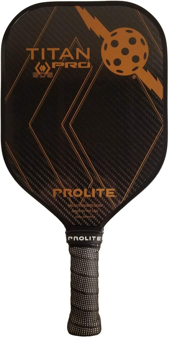 Best Pickleball Paddle in 2021: Prolite Titan Pro Black Diamond Pickleball Paddle