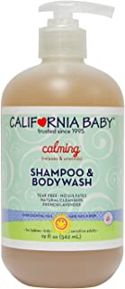 product image for California Baby Calming Shampoo and Body Wash - Hair, Face, and Body | Gentle, Allergy Tested | Dry, Sensitive Skin, 19 Ounces