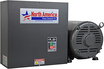 Made in USA NEW UL-5 Pro-Line 5HP UL Listed Rotary Phase Converter