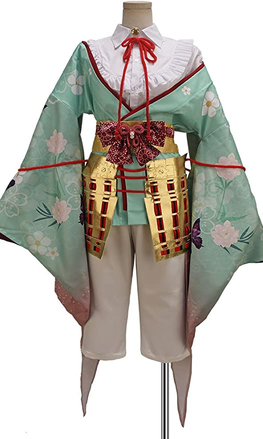 Cosonsen Sengoku Night Blood Toyotomi Army Takenaka Hanbee Cosplay Costume