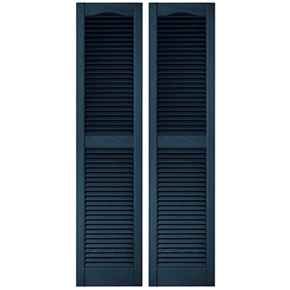 窓飾りシャッター クラシックブルー 長さ1219mm COL1248 036 B00U7CK8E4 16859