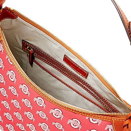Dooney & Bourke, Borsa a spalla donna rosso Red/Brown