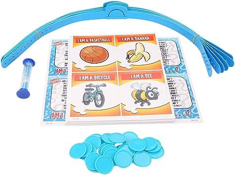 Juego de adivinanzas Divertido Juego de Mesa Educativo para niños y niños Juego Interactivo para Padres e Hijos Tarjetas de Aprendizaje Juguetes Inteligentes Regalos Promover: Amazon.es: Juguetes y juegos