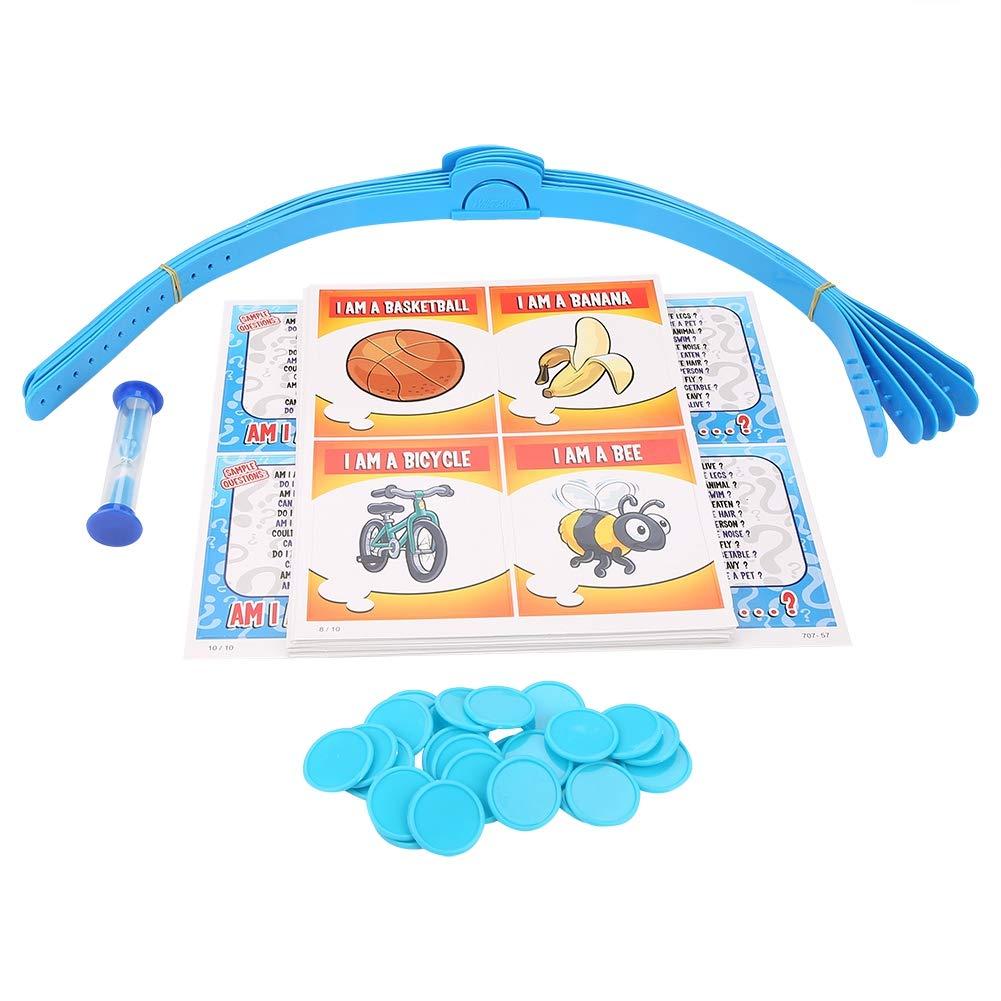 Zerodis Divertente Difficile Famiglia e Festa Gioco da Tavolo Interessante Giocattoli Interattivi per Famiglie per Bambini e Adulti Gioco di Carte