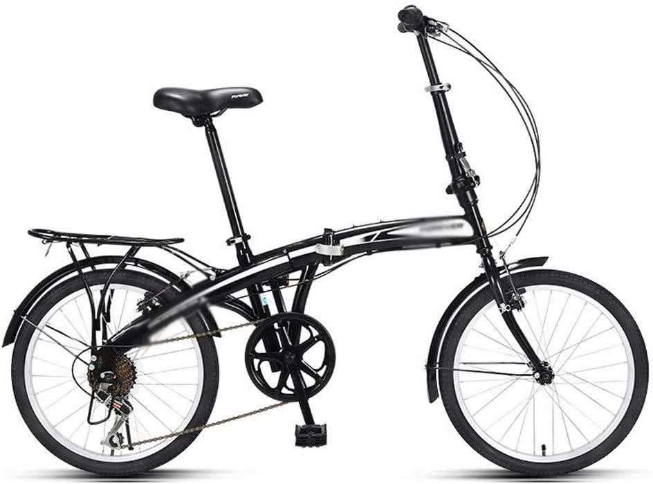 Liudan Bicicleta Plegable Adulto Ultraligero portátil de ...