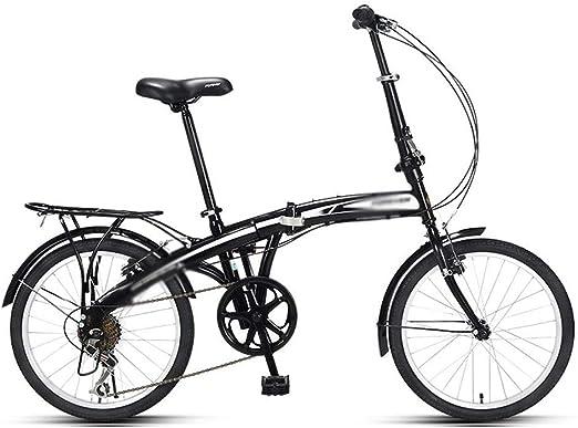 Liudan Bicicleta Plegable Adulto Ultraligero portátil de Bicicletas ...