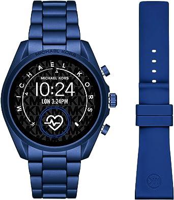 Smartwatch Michael Kors Bradshaw 2 Gen 5 Blue MKT5102: Amazon.es ...