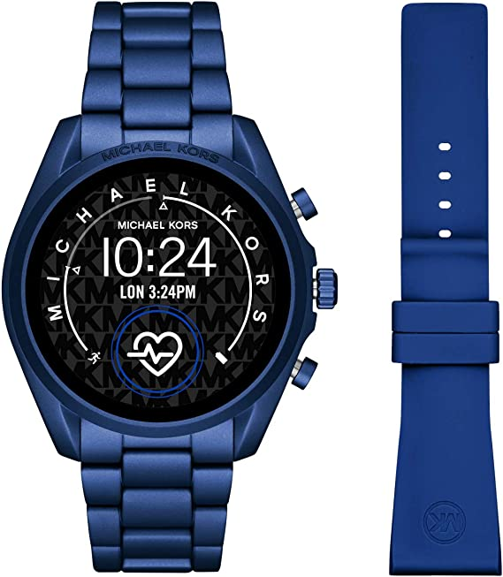 Smartwatch Michael Kors Bradshaw 2 Gen 5 Blue MKT5102: Amazon.es ...