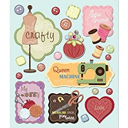 K&company Sewing Sticker Medley