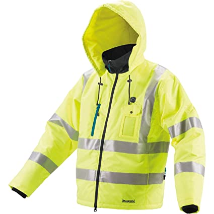 185efb9ccaa Makita DCJ206ZXL 18V LXT High Visibility Heated Jacket