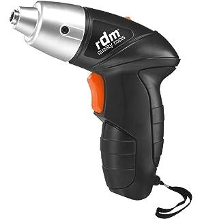 Atornillador eléctrico a batería RDM Quality Tools 70026, 3,6W ...