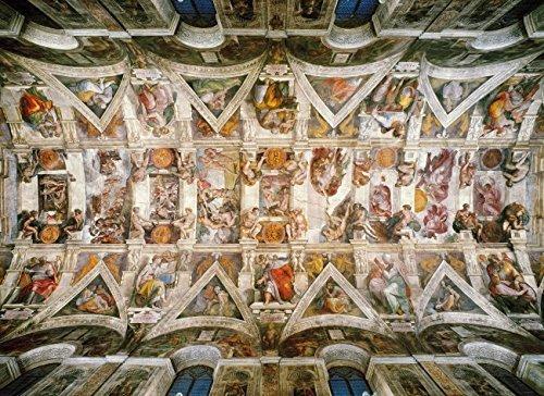 Clementoni 1000 Piece Puzzle - Michelangelo's Sistene Chapel Ceiling