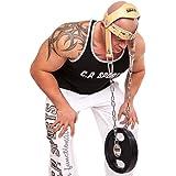 C.P. Sports - Supporto per testa e collo per sollevamento pesi / allenamento, imbottitura in pelle, Multicolore