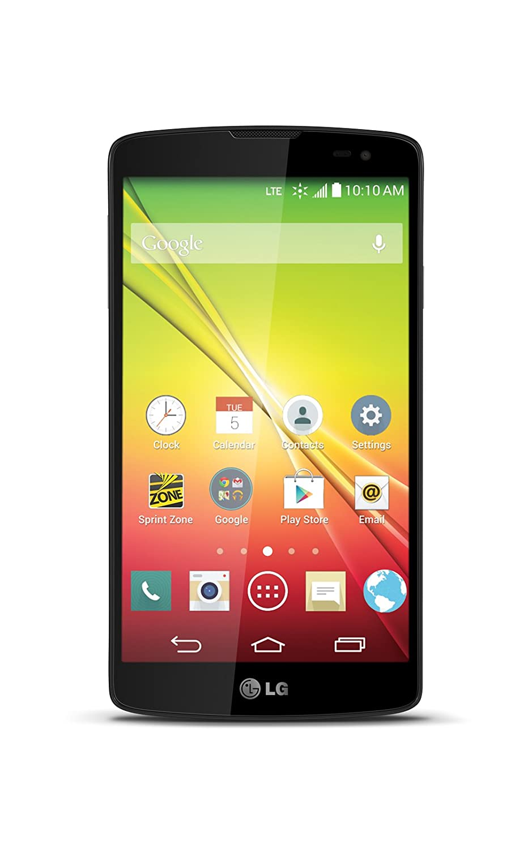 amazon com lg tribute black sprint prepaid cell phones