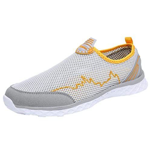 QUICKLYLY Zapatillas Hombres/Mujer Deporte Running Zapatos Correr ...