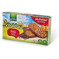 Gullón Vitalday Sandwich Avena Chocolate Galleta Desayuno y Merienda - Paquete de 5 x 44 gr - Total: 220 gr
