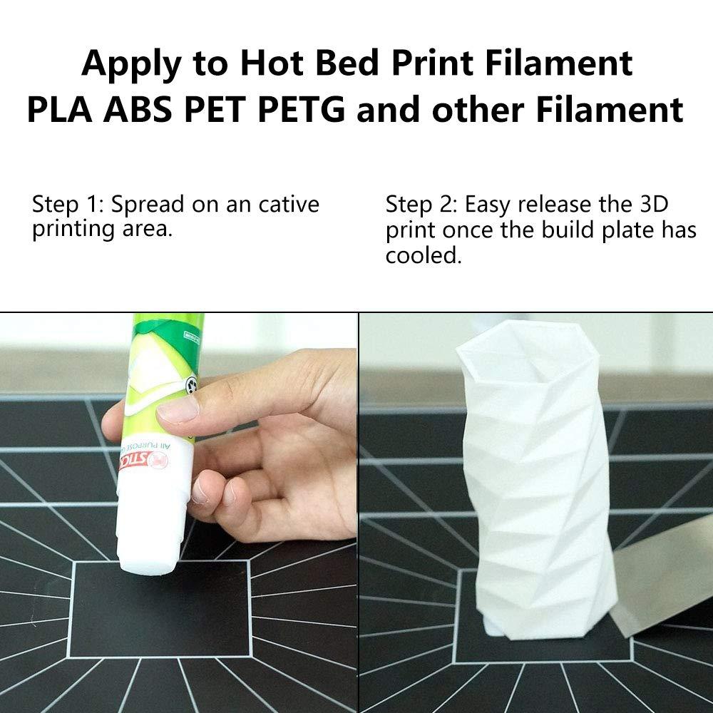Aokin - Barras de pegamento para impresora 3D, 3 unidades de ...